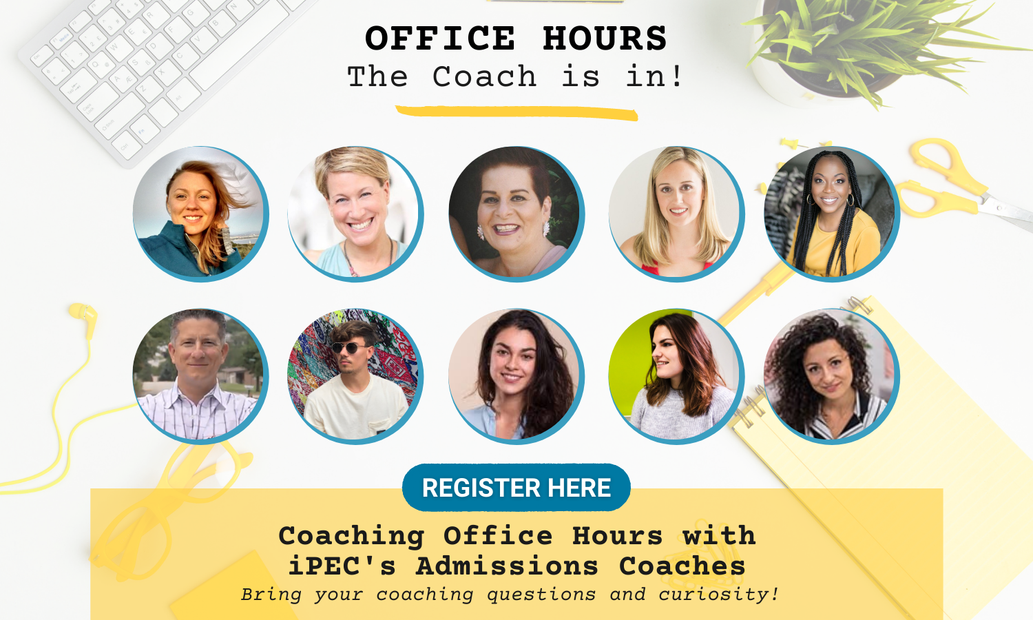 Coaching Office Hours with iPEC Admissions Coaches