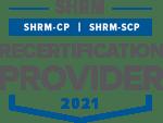 SHRM Recertification Provider Seal 2021 - PNG