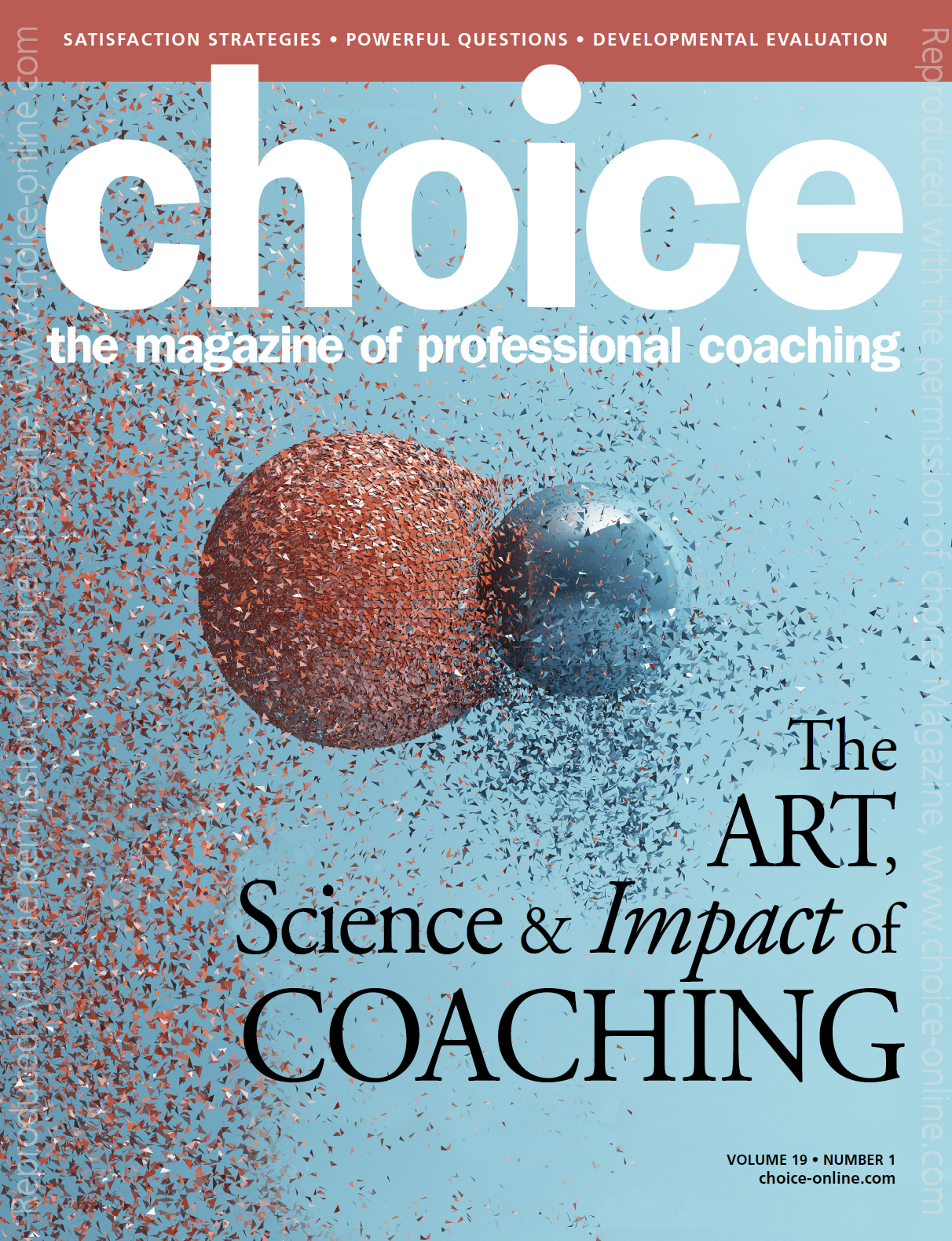 The Art, Science, and Impact of Coaching article - Choice Magazine